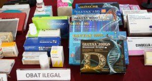 Obat ilegal (foto pom)