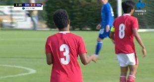 Timnas U-19 Indonesia versus Dinamo Zagreb