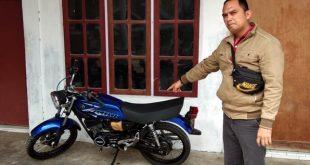 Motor second yang dibeli dari hasil penjualan emas milik Nenek Dahniar