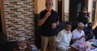 Arrival Boy bersama Nasrul Abit berdiskusi dengan masyarakat Sijunjung