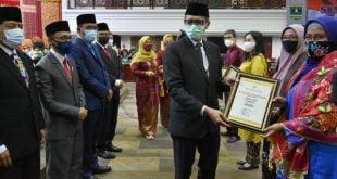 Rapat paripurna istimewa DPRD HUT Sumatera Barat Ke 75 Tahun 2020