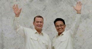 Pasangan calon Gubernur Sumbar, Nasrul Abit - Indra Catri
