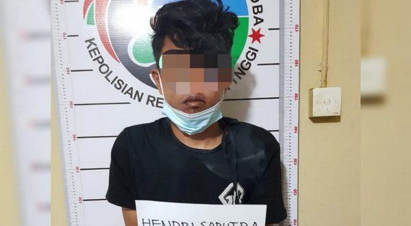 Pengedar narkoba yang diamankan Polres Bukittinggi