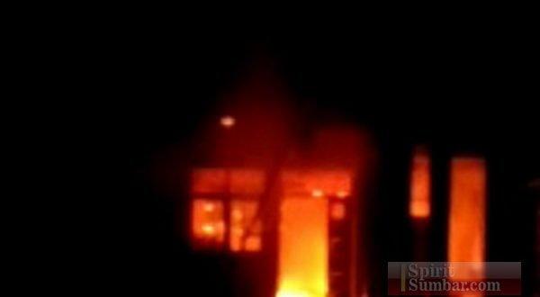 Pondok Pesantren Assy Shadatan terbakar