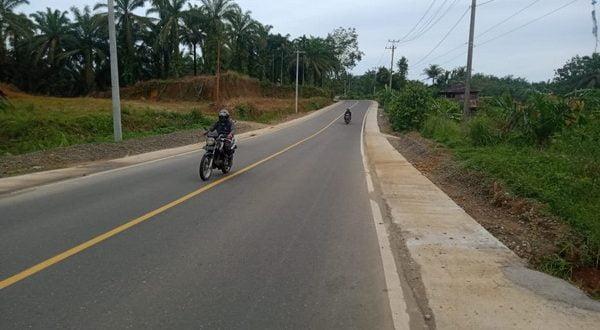 paket pekerjaan Preservasi Jalan Nasional Padang Sawah – Batas Sumut