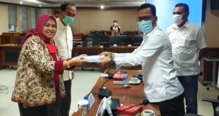 Wakil Ketua Komite II DPD RI Hasan Basri Rapat Dengar Pendapat dengan AJB Bumiputera di Gedung DPD RI, Jakarta