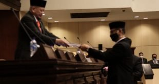 DPD RI menggelar Sidang Paripurna Luar Biasa dengan agenda penyampaian Ikhtisar Hasil Pemeriksaan (IHPS) I Tahun 2020