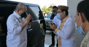 Ketua DPD RI AA LaNyalla Mahmud Mattalitti di Gorontalo