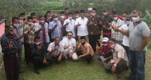 Calon Wakil Gubernur Sumbar, Indra Catri mendapat dukungan masyarakat Nagari Situjuah Batua, Kecamatan Situjuah, Limapuluh Kota