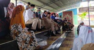 Calon Gubernur Sumbar, Nasrul Abit saat menerima aspirasi masyarakat Solok