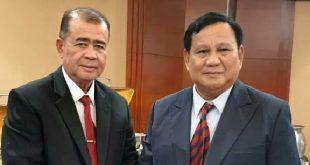 Nasrul Abit bersama Prabowo Subianto