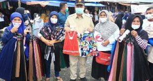 Calon Gubernur Sumbar Nasrul Abit di Kota Bukittinggi, Senin (9/11/2020)