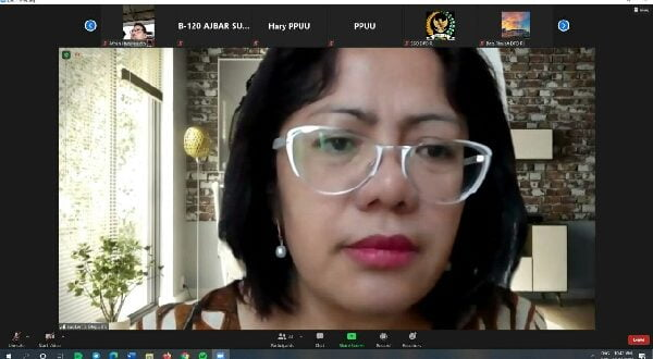 Ketua PPUU DPD RI, Badikenita Putri Br Sitepu