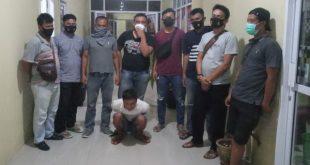 Pelaku pemerasan yang diciduk aparat Polres Dharmasraya