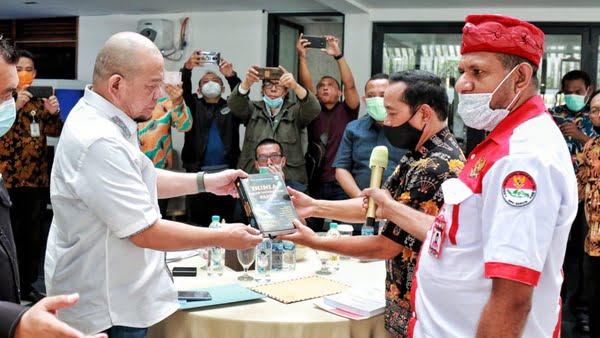 Terima Pengurus Gercin, LaNyalla Ingin Fokus Bahas Kesejahteraan Papua