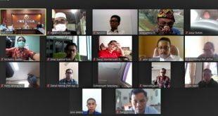 Rapat persiapan HPN 2021 secara virtual