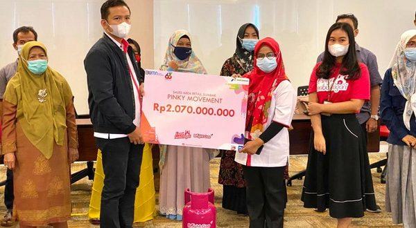 PT Pertamina (Persero) melalui MOR I menghadirkan Program Kemitraan dengan memberi pinjaman lunak untuk pangkalan dan UMKM melalui Program Pinky Movement