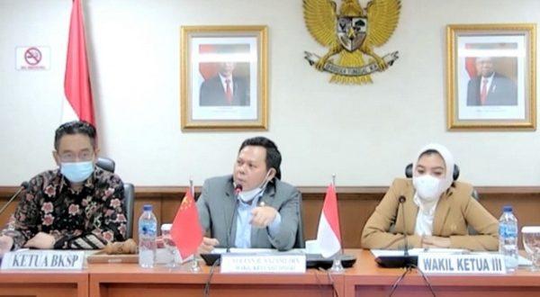Pertemuan antara BKSP DPD RI dengan Duta Besar RRT untuk Indonesia