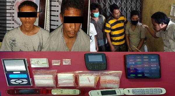 2 Pengedar Narkoba Kembali Diciduk di Dharmasraya