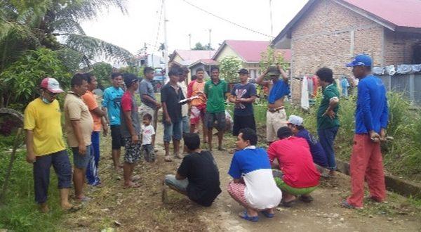 warga Perumahan ABI Kayu Kalek, RT 01/RW 01, Kelurahan Padang Sarai, Kecamatan Koto Tangah gelar goro minggu pertama tiap bulan