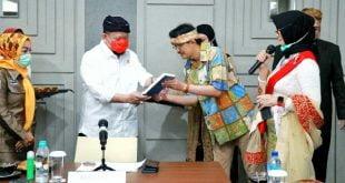 LaNyalla sebelum bertolak ke Jakarta dari kunjungan kerja di Jawa Barat,