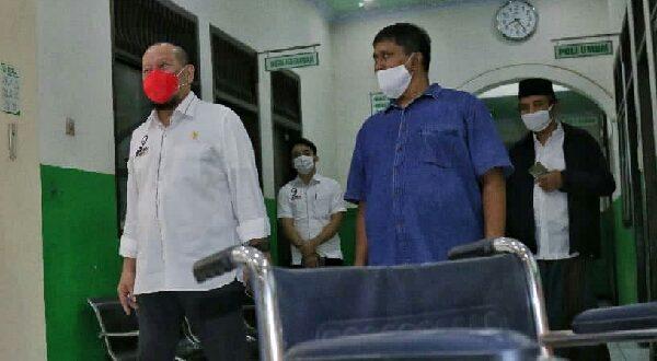 Ketua DPD RI AA LaNyalla Mahmud Mattalitti meminta kepada pihak terkait untuk segera mendirikan posko kesehatan