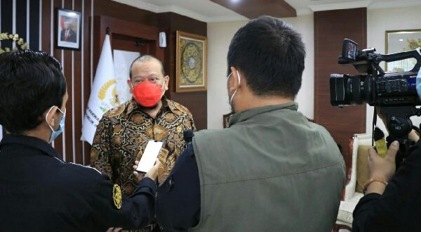 Ketua DPD RI, AA LaNyalla Mahmud Mattalitti mengapresiasi Kabupaten Banggai, Sulawesi Tengah yang memulai ekspor gurita perdana ke Meksiko