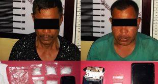 Pelaku pengedar Narkoba di Dharmasraya