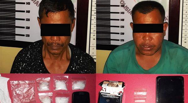 Polres Dharmasraya Kembali Cokok 2 Pengedar Narkoba