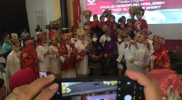 Suasana pengukuhan KPP Wilayah Sumbar Ahad 31/1/2021 (foto: dok/rom)
