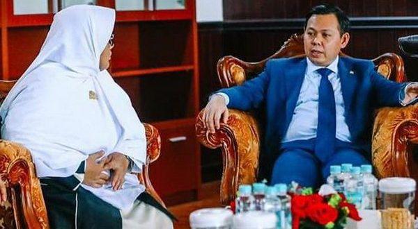 Wakil Ketua DPD RI Sultan B Najamudin menghadiri rapat yang dipimpin oleh Presiden RI Joko Widodo (Jokowi), Selasa (26/01/2021)