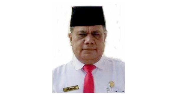Osman, Kepala Dinas Sosial Kota Padang Panjang.