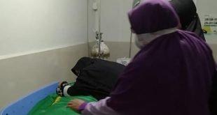 Jasad F (16), didapati orang tuanya dalam keadaan terbujur kaku di RS Yarsi, Sabtu 6 Februari 2021 (foto Valora)