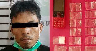 Pengedar narkoba yang diciduk Satresnarkoba Polres Dharmasraya