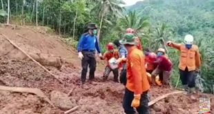Banjir dan galodo di Nganjuk