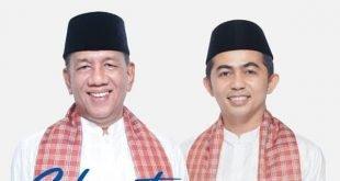 Bupati dan Wakil Bupati Pesisir Selatan Drs. H. Rusma Yul Anwar, MPd dan Apt. Rudi Hariyamsyah, S.Si.