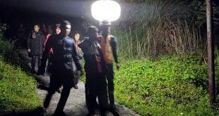 evakuasi terhadap 4 pelajarSMAN-2 Padang Panjang