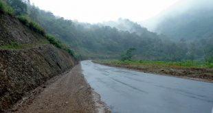 Jalan lingar selatan dari Koto Katik (belakang Islamic Center ) ke Bancah Laweh.