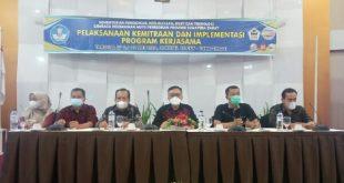 Kegiatan kemitraan bersama Lembaga Peningkatan Mutu Pendidikan Provinsi Sumatera Barat
