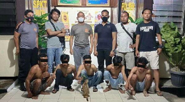 Polisi Ciduk 5 Pelaku Binter