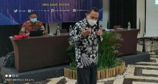teks foto ; Asra SH MH dari Badan Diklat Kumti MA RI jadi narasumber Bimtek Penyusunan Putusan Ajudikasi Sengketa Informasi Publik, Kamis 10/6/2021 di Bogor.