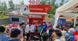 Pertashop di Desa Batu Balang, Kecamatan Harau, Kabupaten Limapuluh Kota