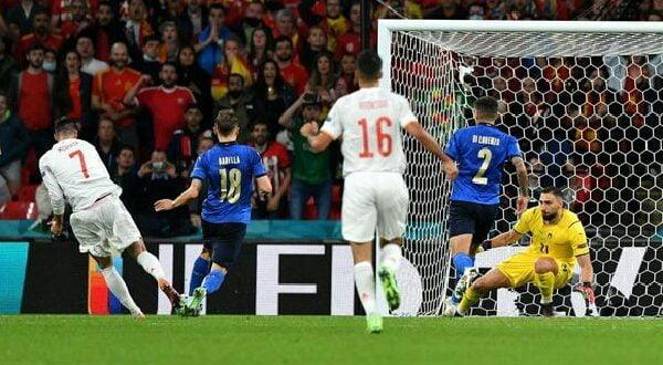Italia vs Spanyol di Semifinal Euro 2020