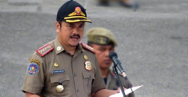 Kadis Pol-PP Padang Panjang, Drs.Alber Dwitra, MM