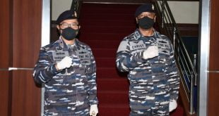 Danlantamal II Padang Laksma TNI, Hargianto.S.E.,M.M.,M.Si. (Han) dan Letkol Laut (KH) Christanto Nugroho.,S.H.,