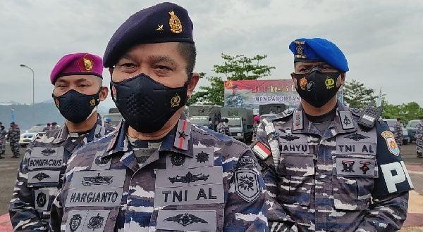 Komandan Lantamal II Laksmana Pertama TNI Hargianto SE, MM, MSi (Han)