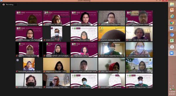 ICGCS 2021 digelar secara zoom meeting online diikuti 50 penyaji berkaliber ahli