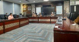 HM Nurnas buka uji tulis calon KPID Kamis 2 September 2021 di DPRD Sumbar (foto: dok)