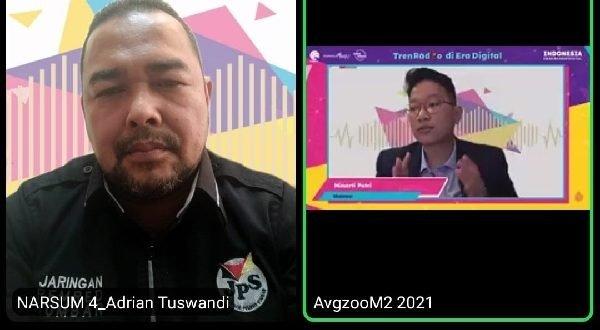 Adrian Tuswandi narasumber webinar
