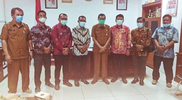 Raflis Terima Pimpinan DPRD Mentawai
